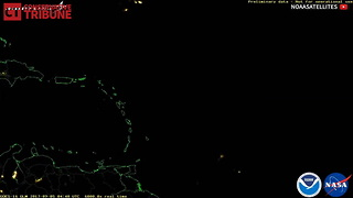Weather Phenomena During Hurricane Irma - Video