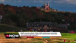Holy Hill provides picturesque backdrop for the 2017 U.S. Open at Erin Hills - Video