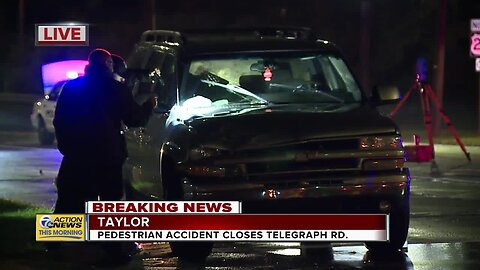 Pedestrian accident closes Telegraph Road in Taylor