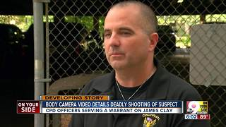 Body camera video shows deadly shooting of suspect - Video