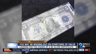 Are you missing a $5 silver certificate? - Video