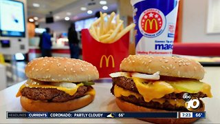 McDonald's sued over unwanted cheese?