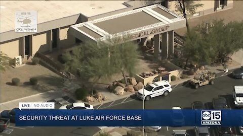 Security threat reported at Luke Air Force Base