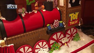 Gingerbread Forest benefits Salvation Army