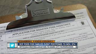 Pasco food assistance program postponed days before site was to open - Video