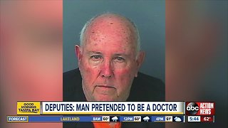 Deputies: 73-year-old man practiced health care without license