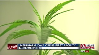 MedPharm Iowa opens state's first medical marijuana production facility