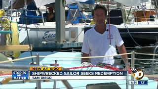 ShipwreckedSan iego salor seeks redemption in solo voyage - Video