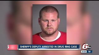 Sheriff's Deputy arrested in drug ring case - Video