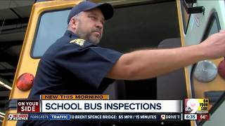 Before they hit the road, over 20,000 Ohio school buses must pass a rigorous inspection - Video