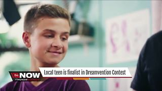 Local teen is finalist in Dreamvention Contest - Video