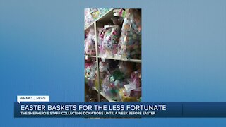 Easter baskets for the less fortunate