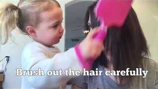 This May Be the Cutest Hair Tutorial You've Ever Seen - Video