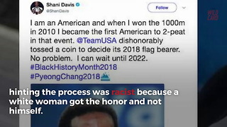 U.S. Olympian Who Cried Racism Over Not Bearing Flag Ditches Opening Ceremony - Video