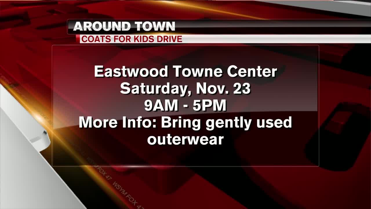 Around Town - Coats for Kids Drive - 11/19/19