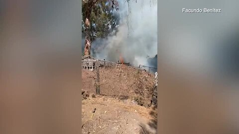 Brush fire breaks out in City Heights canyon