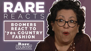 Boomers React to '70s Country Fashion | Rare Reacts - Video