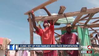Clinic Set Up for Families who Face Deportation - Video