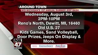 Around Town 8/1/17: Summer Jeep Bash - Video