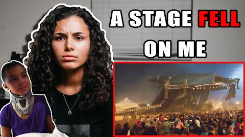 A STAGE FELL ON ME | Indiana State Fair Stage Collapse
