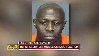 Deputies: Middle school teacher arrested for sexual misconduct with 13-year-old student