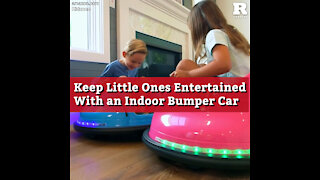 Keep Little Ones Entertained With an Indoor Bumper Car