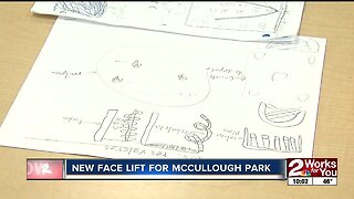 McCullough Park is getting a new face lift