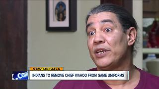 Indians to remove Chief Wahoo from game uniforms - Video