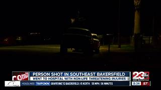 Person shot in southeast Bakersfield - Video