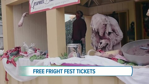 Win Free Fright Fest Tickets @ Elitch Gardens Now-November 2nd