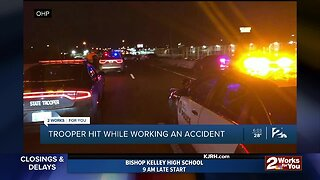 OHP Trooper Hit While Working An Accident