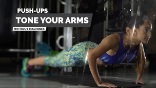 Push-ups- Tone your arms without equipment - Video
