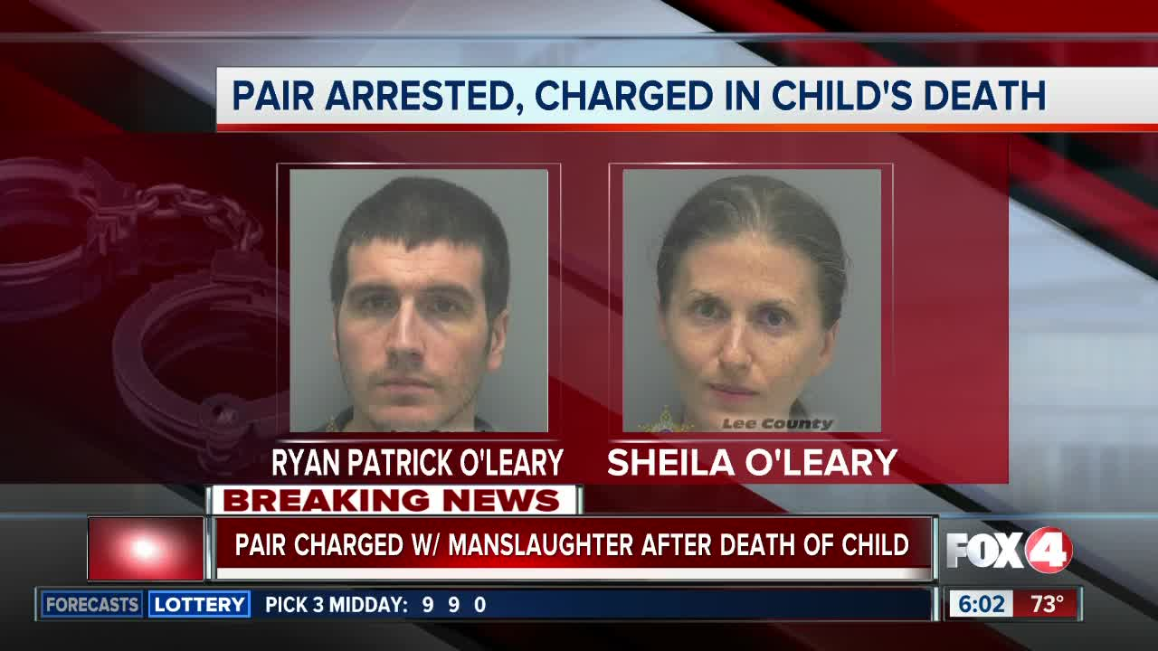 Cape Coral pair arrested for death of child