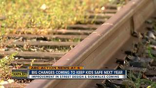 Safety improvements near schools - Video