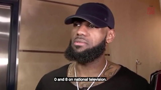 "Lebron James: We're So Bad ""They Should Take Us Off National TV"""