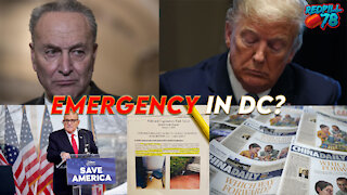 Emergency In DC - Was POTUS Already Inaugurated?