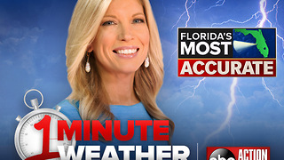 Florida's Most Accurate Forecast with Shay Ryan on Thursday, April 26, 2018 - Video