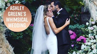 Ashley Greene posts first pics from her wedding