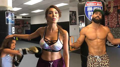Farrah Abraham Says She Signed Up For Celeb Boxing To Fight Bullying