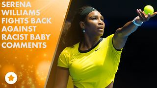 Serena Williams defends her unborn baby - Video