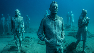Underwater Museum: Unique Submerged Art Installation Aims To Benefit Marine Life - Video