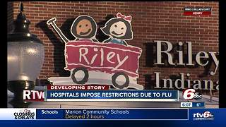 IU Health now restricting visitors to help prevent the spread of flu - Video