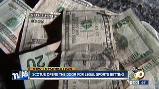 SCOTUS opens door for legal sports betting - Video