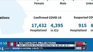 Breaking down the latest statewide ICU projections