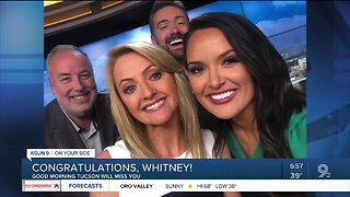 Whitney Clark says goodbye