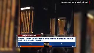 Detroit city councilwoman hopes to ban guns in some hotel rooms - Video