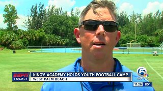 King's Academy Football Camp 7/24