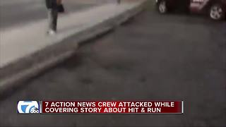 7 Action News Crew attacked while covering story - Video