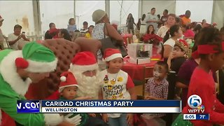 Caridad Christmas party held in Wellington