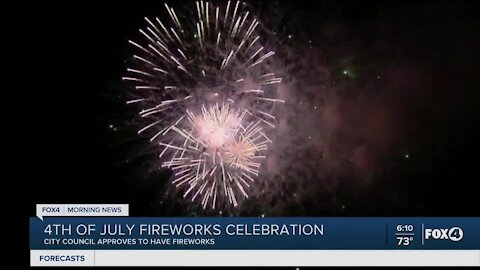 Fort Myers Beach approves fireworks
